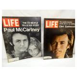 CLINT EASTWOOD/PAUL MCCARTNEY LIFE MAG.