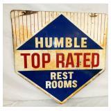 30X30 HUMBLE RESTROOM SIGN