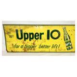 30X12 EMB UPPER 10 SIGN