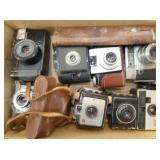 EARLY LOT OF CAMERAS