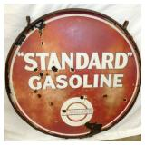 36 IN. PORC.STANDARD GAS SIGN