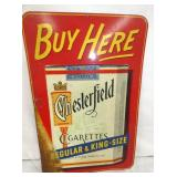 12X17 1/2 CHESTERFIELD KING SIZE SIGN