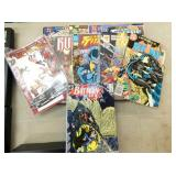 BATMAN, TEAM TITANS COMIC BOOKS