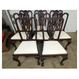 (8) CHIPINDALE STYLE CHAIRS