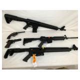 TACTICAL GUNS AND PISTOLS