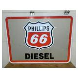 48X36 PHILLIPS 66 DIESEL SIGN