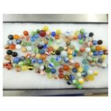 CASE #1 COLLECTION OF EARLY MARBLES