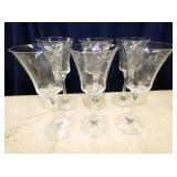 EARLY HIESEY STEMWARE