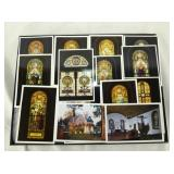 VARIOUS EARLY STATE CHURCHES POSTCARDS
