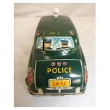 VIEW 4 BACK POLICE DICK TRACY CAR
