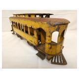 VIEW 4 EARLY TIN TRAIN CAR