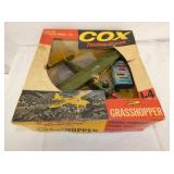 14IN COX THIMBLE DROME AIRPLANE W/ CAN