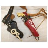 EARLY PISTOLS/HOLSTERS