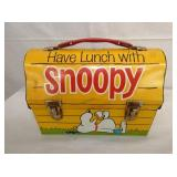 1968 SNOOPY LUNCH BOX