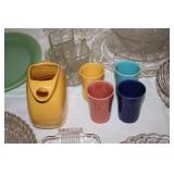 Fiesta Pitcher and Glasses