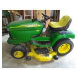 Mod. 245 John Deere riding mower