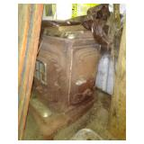 Antique wood/coal parlor heater