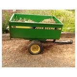 John Deere 15 dump trailer