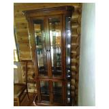 * Pulaski china cabinet Made in Pulaski Virginia