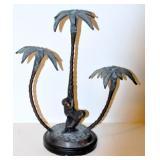 Bronze candleholder