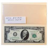 Lot 12, 1963A Ten Dollar Note