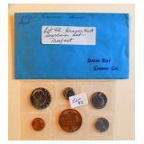 Lot 42, Denver Mint Souvenir Set