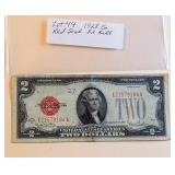 Lot 44, 1928G Two Dollar Bill