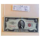 Lot 47 (3) Two Dollar Bills