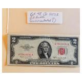 Lot 48, (3) Two Dollar Bills