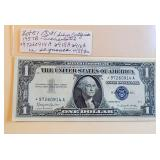 Lot 51, Three STAR  Silver Certificates