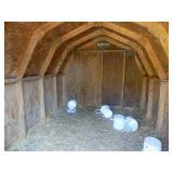 Interior of smaller barn