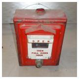 Antique Fire Alarm Box