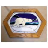 Bear Stained Glass
