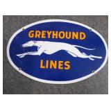 Greyhound Lines Sign
