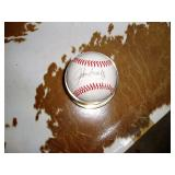 John Smoltz Autographed Baseball
