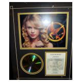 Autographed CD by Taylor Swift