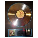 Kenny Rogers Gold Record for The Gambler