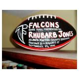 Game Ball Presented to Rhubard
