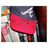 Braves Hat signed by Bobby Cox and others