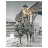 Autographed photo John Wayne... Please Note: Questionable if Authentic