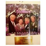 Autographed by Happy Goodman Family