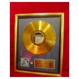 Presentation Gold Record
