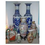 20th century Chinese Palace Vases