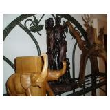 African Statues and Art Pieces