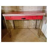 1950s Red Kitchen Table