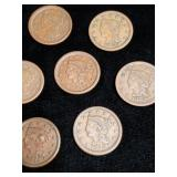 Large Cent Collection