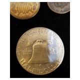 1949d Franklin Half Dollar