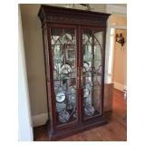 Curio cabinet for sale but not contents of cabinet