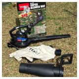 Toro Super Blower with Attachments & Original Box - Looks hardly used