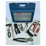 Tool Organizer with Many Misc Hand Tools